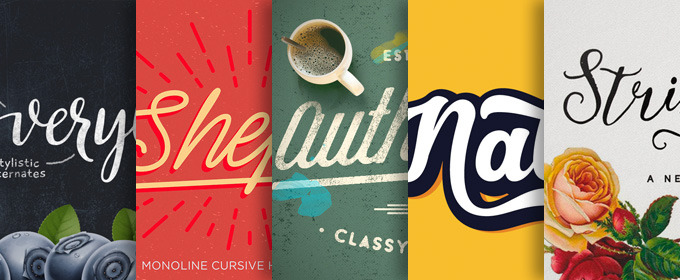 40 Fancy Cursive Fonts to Add to Your Collection