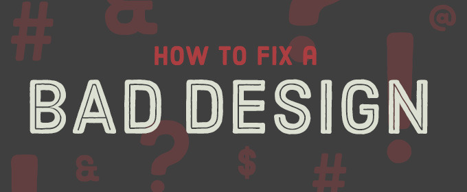 How to fix a bad design creative market blog