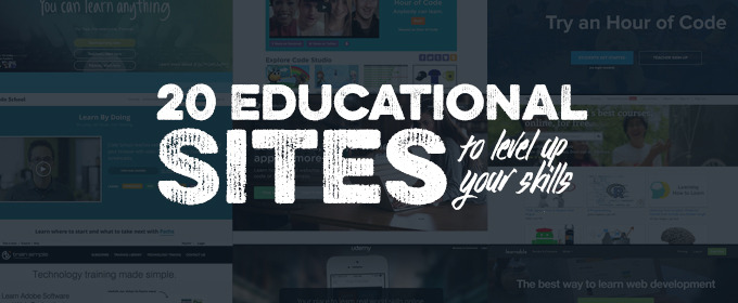 Better Yourself in 2015: 20 Educational Sites to Level Up Your Skills