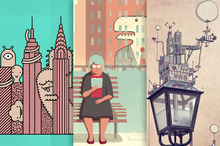 20 Fantastical City Illustrations to Prompt the Urban in You
