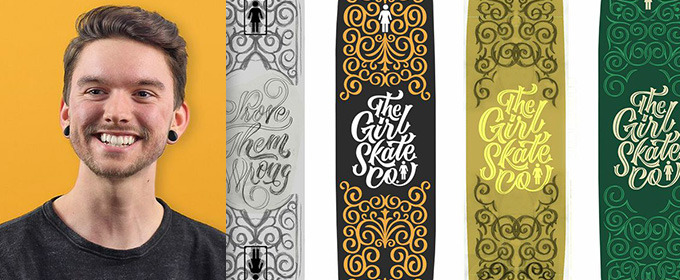 How Scott Biersack Designed an Awesome Girl Skate Co. Deck