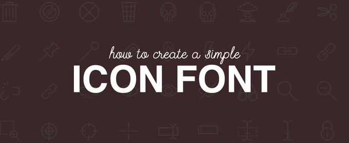 How to create a simple icon font creative market blog how to create a simple icon font ccuart Image collections