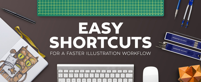 Easy Shortcuts for a Faster Illustration Workflow