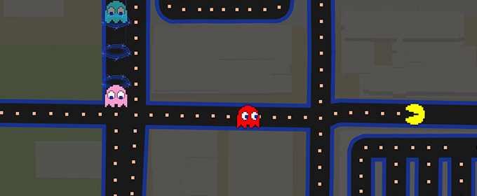 You've Got To Try The Pac-Man Google Maps Game