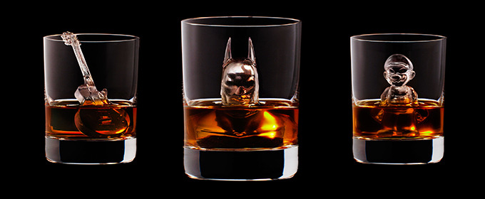 3D Batman Ice Cubes in Your Whisky Will Make You Feel Like Bruce Wayne