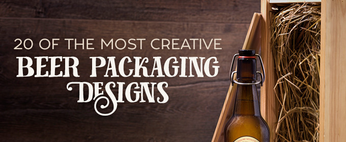 20 of the Most Creative Beer Packaging Designs Ever