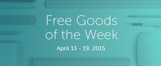 6 Free Design Goods To Download This Week: Apr 13, 2015