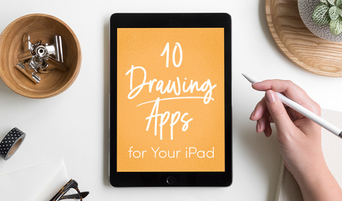 10 Apps to Turn Your iPad Into a Bad Ass Drawing Tablet