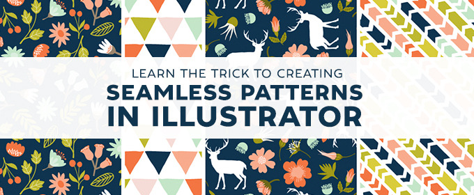 Learn The Trick To Creating Seamless Patterns In Illustrator Fascinating How To Make A Seamless Pattern In Photoshop