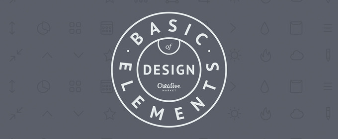Basic Elements Of Design : Infographic basic elements of design creative market