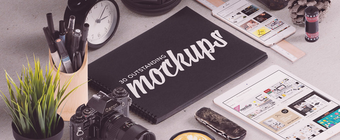 30 Mockups To Make Your Designs Look Incredible