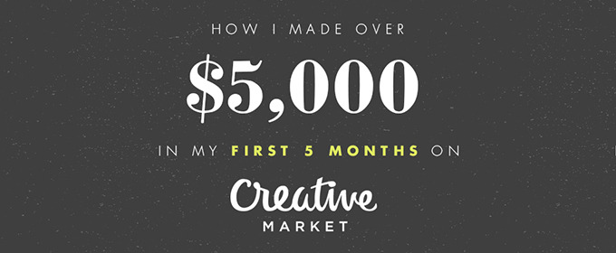 How Janna Hagan Made Over $5,000 in Five Months On Creative Market