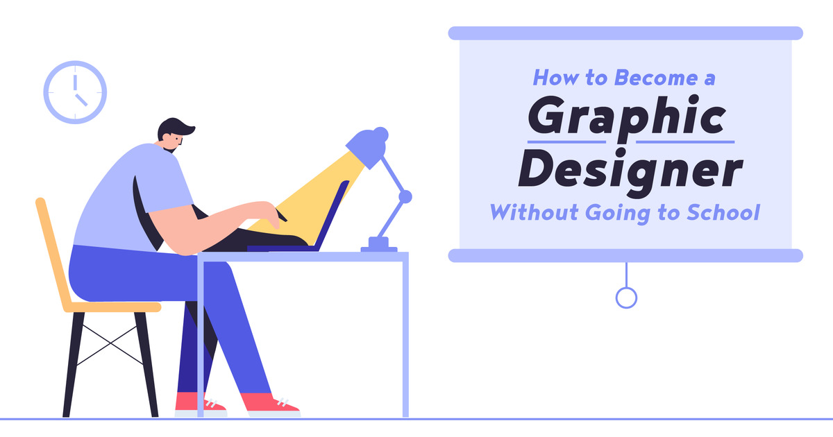 How To Become A Graphic Designer Without Going To School Creative Market Blog