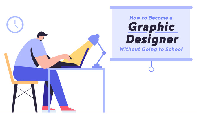 Become a graphic designer without going to school