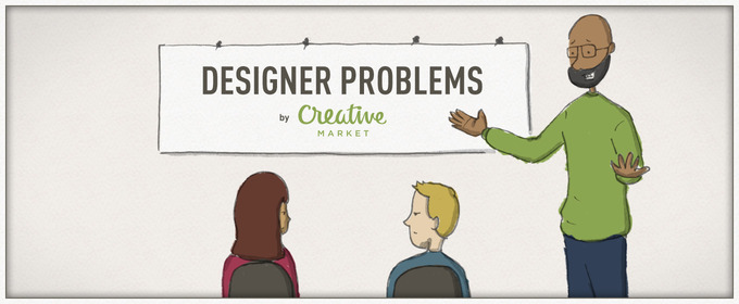 Designer Problems Comic #1: Stranded With Your Art Director