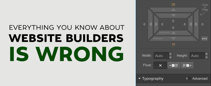 Everything You Know About Website Builders is Wrong