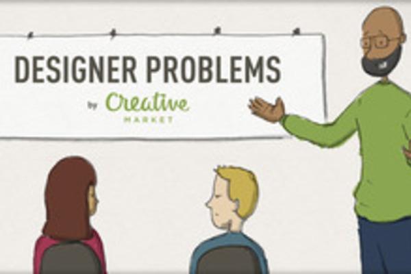 Designer Problems Comic #2: Buying a Dress