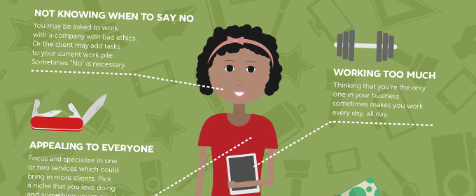 Infographic: 5 Mistakes Every Freelancer Makes
