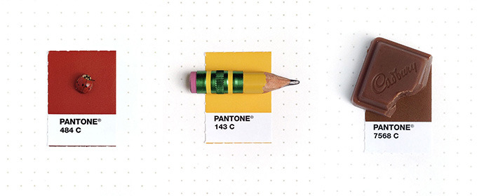 This Designer Matches Teeny Objects with Pantone Colors and We Love It