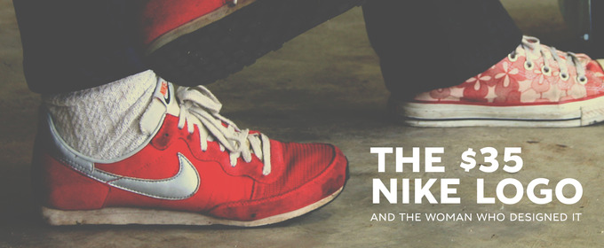 51cd6f2c0c6d The  35 Nike Logo and the Woman Who Designed It ~ Creative Market Blog