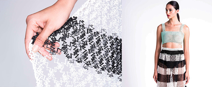 This Designer 3D Printed an Entire Fashion Collection from Home. And It's Absolutely Stunning.