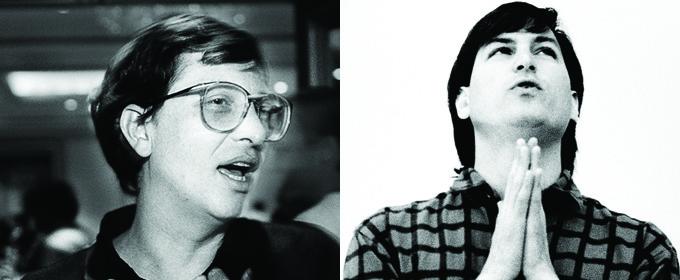 Steve Jobs & Bill Gates Like You've Never Seen Them Before