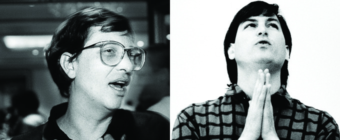 Steve Jobs & Bill Gates Like You've Never Seen Them Before
