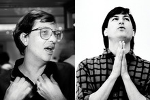 Steve Jobs &amp&#x3B; Bill Gates Like You&#039&#x3B;ve Never Seen Them Before