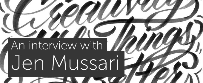Nostalgic Lettering, Making a Living & Creepy Podcasts: An Interview with Jen Mussari