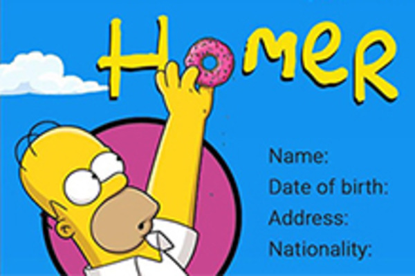 Ever Wonder What Homer Simpson Would Put on His Resume?