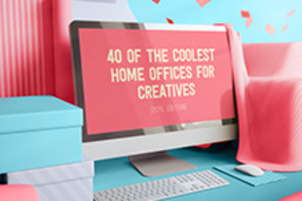 40 of The Coolest Home Offices for Creatives (2015 Edition)
