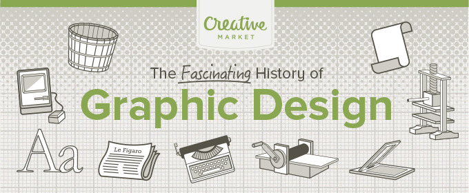 Infographic: The History of Graphic Design ~ Creative Market Blog