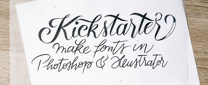Create Your Own Hand-Lettered Fonts in Minutes With