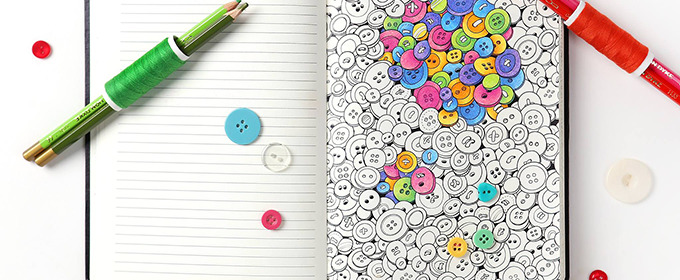 Coloring Book? Notebook? Both. And We're Loving It.