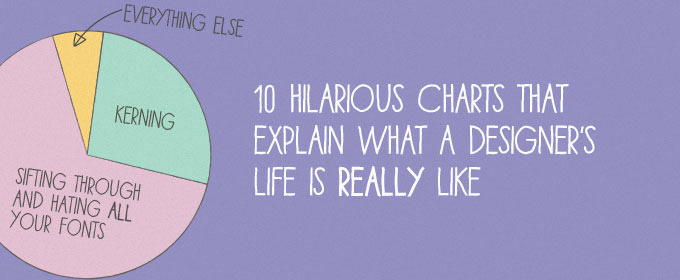 10 Hilarious Charts That Explain What a Designer's Life is Really Like