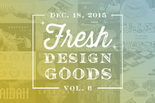 This Week's Fresh Design Goods: Vol. 6
