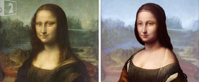 Scientist Reveals First Draft Of DaVinci's Mona Lisa