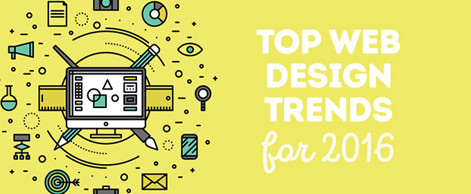 Top Web Design Trends for 2016