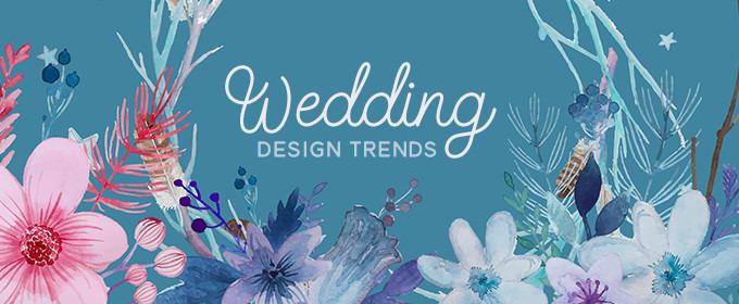 5 Creative Wedding Design Trends and Matching Invitation Ideas