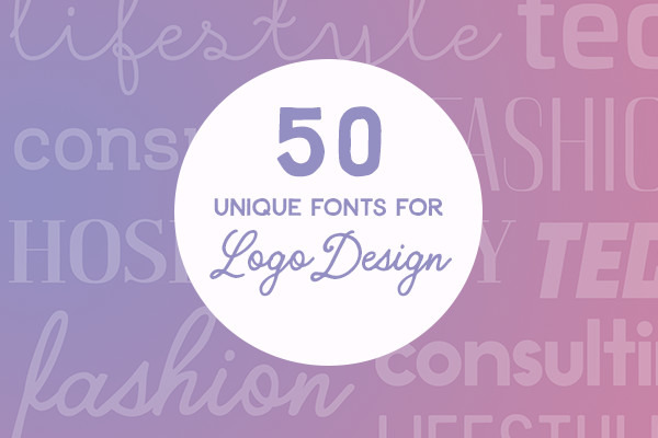 Brand Typography: 50 Unique Fonts That Are Perfect for Logo Design