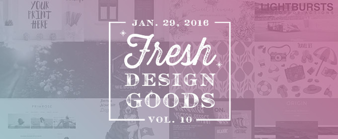 This Week's Fresh Design Goods: Vol. 10