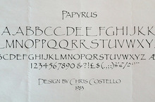 The Story Behind Papyrus, The Font Everyone Hates
