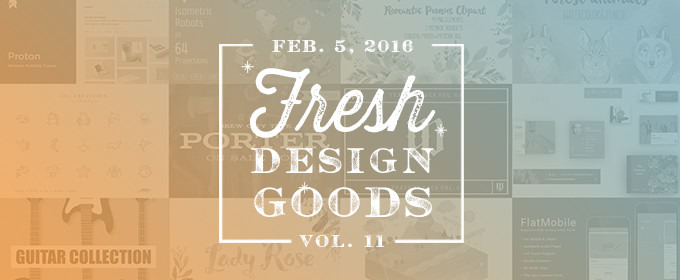 This Week's Fresh Design Products: Vol. 11