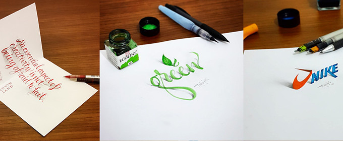 Check Out This 3D Calligraphy that Leaps Off the Page