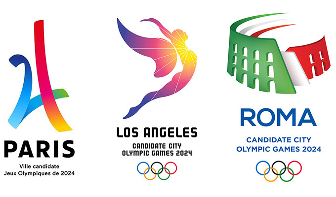 Paris, L.A. and Rome Unveil Official Logos For The 2024 Olympic Games