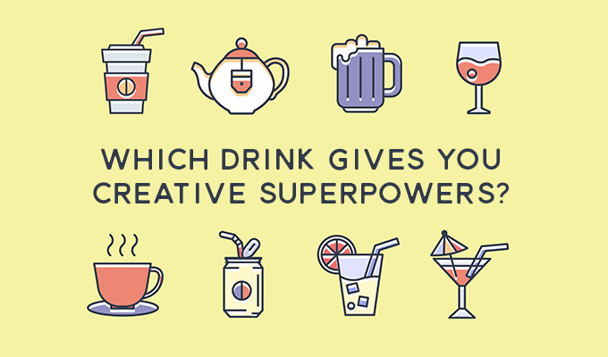 Quiz: Which Drink Gives You Creative Superpowers?