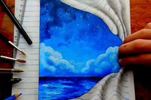 This Self-Taught Teenager Draws Mind-Bending 3D Art With Regular Pencils
