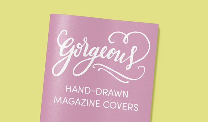 20 Gorgeous Hand-Drawn Magazine Covers