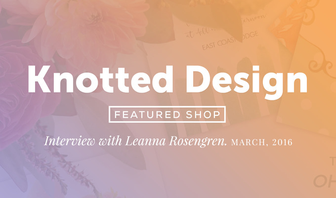 f385016a7d76 Featured Shop: Knotted Design ~ Creative Market Blog