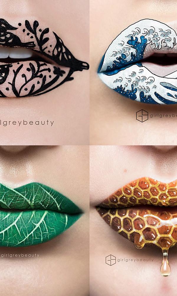 Makeup Artist Creates Extraordinary Lip Art Creative Market Blog